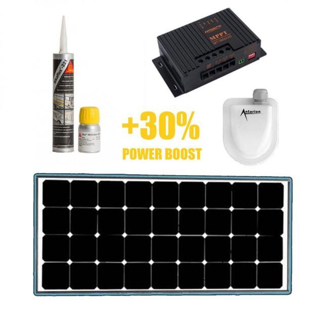 antarion black booster kit panneau solaire 120w mppt. Black Bedroom Furniture Sets. Home Design Ideas