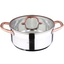 Bergner - Casserole Infinity Chef - 24X10.5 4.5L Inox- Induction