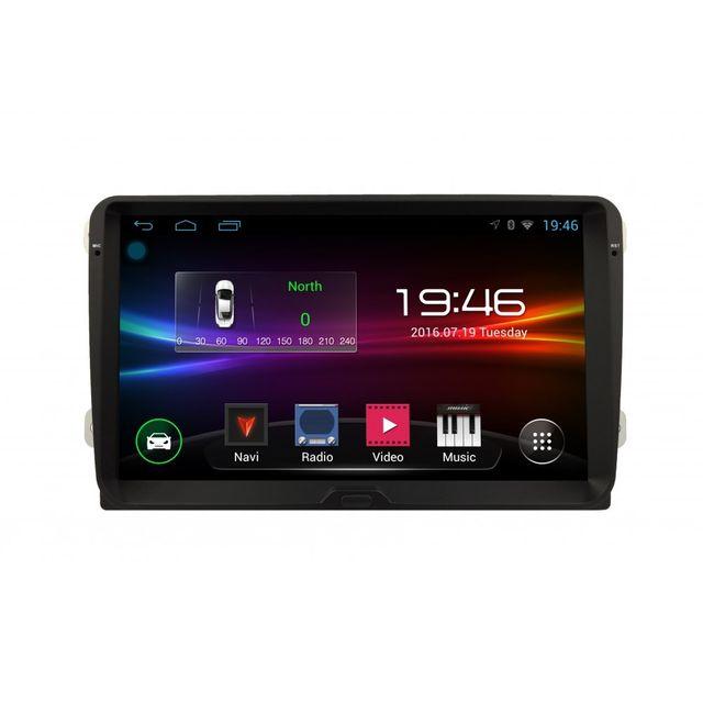 Auto-hightech Autoradio Volkswagen Android 4.4 voiture radio Gps WiFi