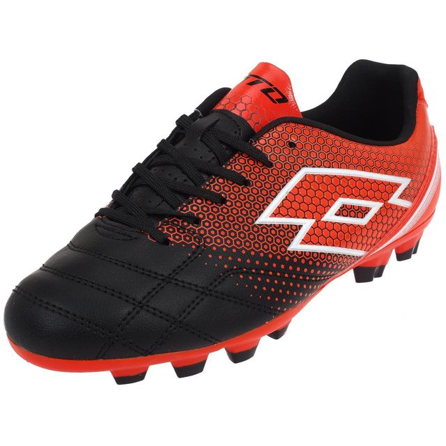 the latest 64f14 1c361 Lotto - Chaussures football moulées Lotto Spider 700xiii foot jr Rouge 39043