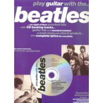 Wise Publications - Partitions Variété, Pop, Rock. Play Guitar With. Beatles Vol.1 + Cd Guitare Tablatures