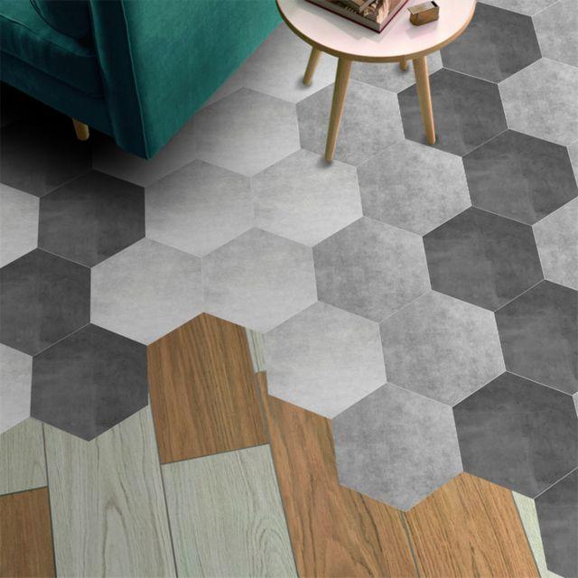 10 Pieces Hexagone Auto Adhesif Non Slip De Bain Cuisine Plancher Mur Carrelage Autocollant Pas Cher Achat Vente Decoration Chambre Enfant Rueducommerce