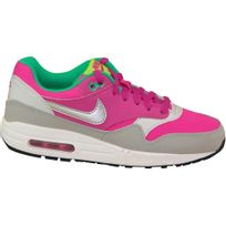 Nike - Air Max 1 Gs 653653-600 Enfant mixte Baskets Rose