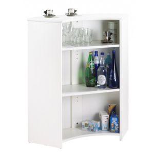 simmob meuble comptoir meuble bar blanc coloris tour eiffel 750 751 pas cher achat. Black Bedroom Furniture Sets. Home Design Ideas