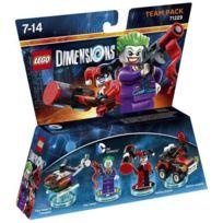 Warner Games - Figurines Lego Dimensions - The Joker et Harley Quinn - Dc Comics