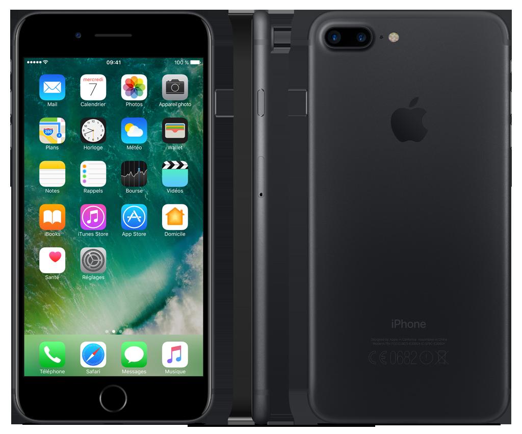 iPhone 7 Plus - 32 Go - MNQM2ZD/A - Noir