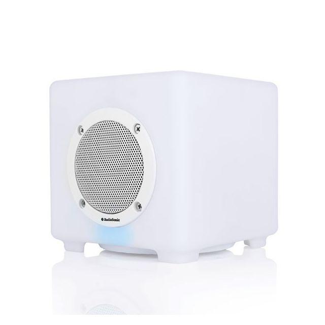 Totalcadeau Enceinte Bluetooth avec 4 modes d éclairage Led - Avec télécommande 6W