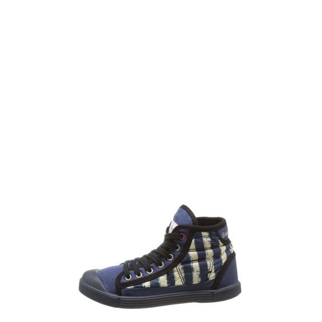 Little Marcel Baskets Samba Up Stripes Bleu