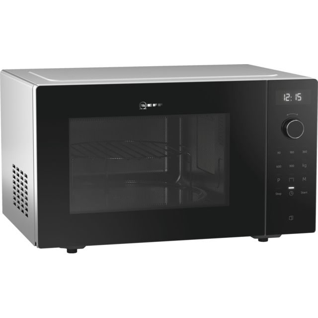 Neff micro-ondes gril 25l 900w noir - fmggg53s0