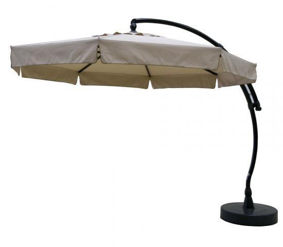 Easy Sun - Sun Garden Parasol déporté 350 Olefin Taupe Clair