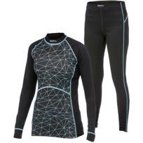 Craft - Active Multi 2 Pieces Femme Noir Et Aquamarine Sous Vêtement Technique femme