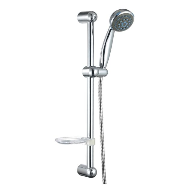 Ensemble de douche 1 jet valentin micro chrom vendu par for Ensemble de douche leroy merlin