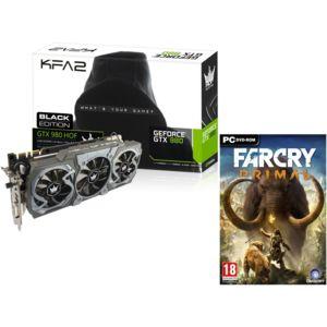 KFA2 - GeForce GTX980 HOF Black Edition 4 Go DDR5 + FAR CRY PRIMAL PC