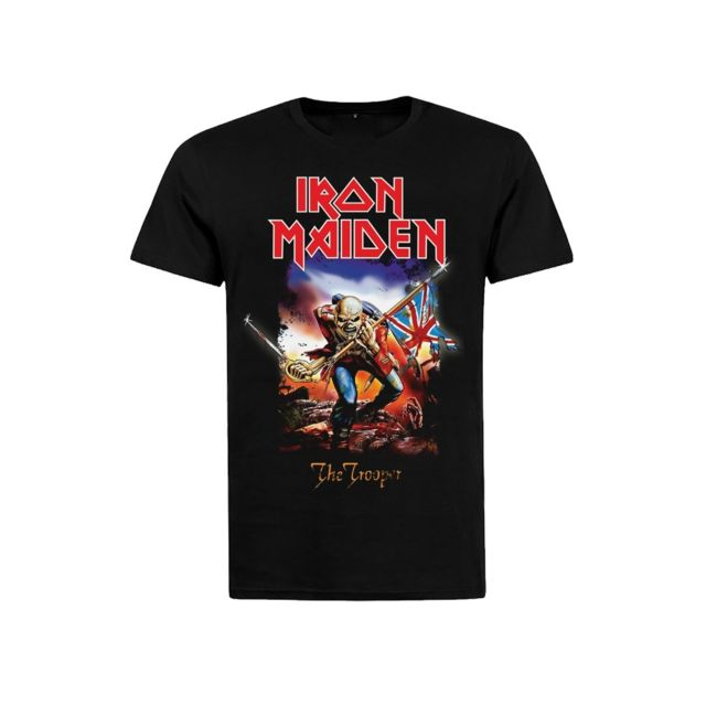 Rock Vintage - T-shirt Iron Maiden The trooper