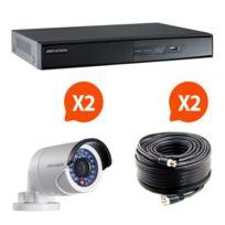 HIKVISION - HIK-2BUL-THD - Kit vidéo surveillance Turbo HD 2 caméras bullet N°2
