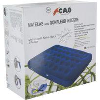 Cao Camping - Matelas gonflable Duo Gonfleur incorporé