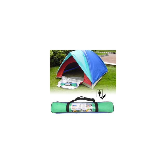 Auto-hightech Ensemble tente de camping pour 1 personnes, mise en place rapide, avec sac de transport pour camping en plein air