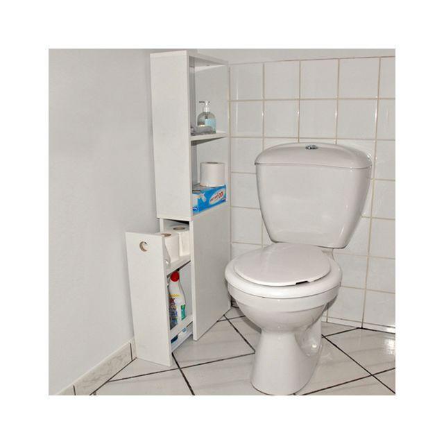 Meuble WC - Achat/Vente Meuble WC Pas Cher - Rueducommerce