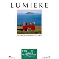 LUMIERE - Papier photo Prestige Brillant - A4