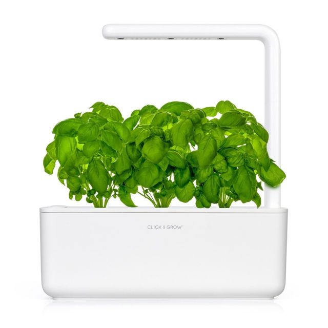 Click & Grow Click&Grow Smart Garden 3, Jardinière avec Led - Blanc