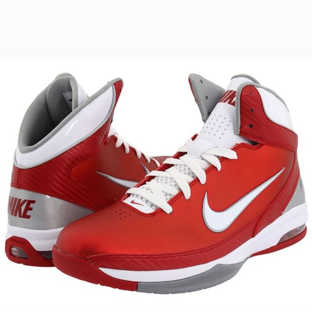 Nike ChaussuresHomme Gris Air Max Hyped Tb Rouge Gris ChaussuresHomme Rouge pas cher b6b908