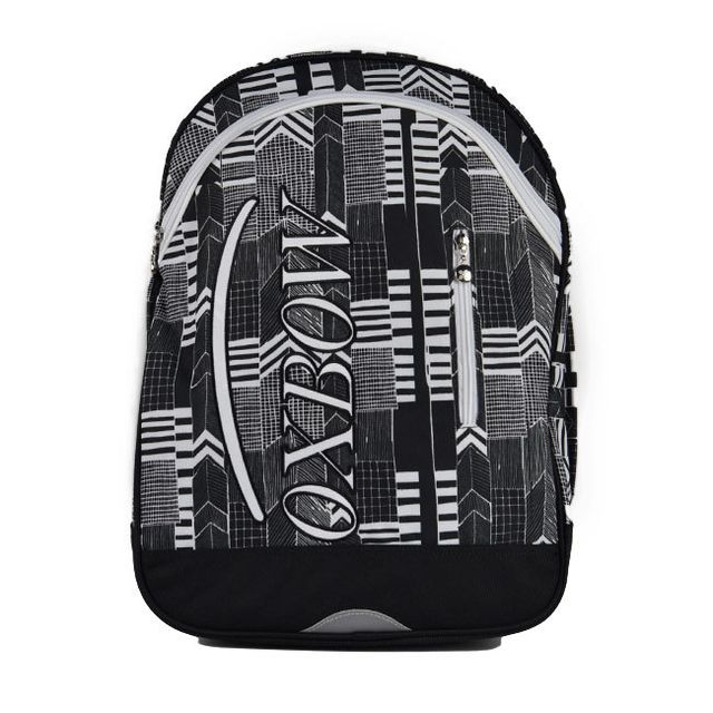 659dc8a759 Oxbow - Sac à dos 2 compartiments Graphics gris - pas cher Achat / Vente  Cartables, sacs à dos collège/lycée - RueDuCommerce
