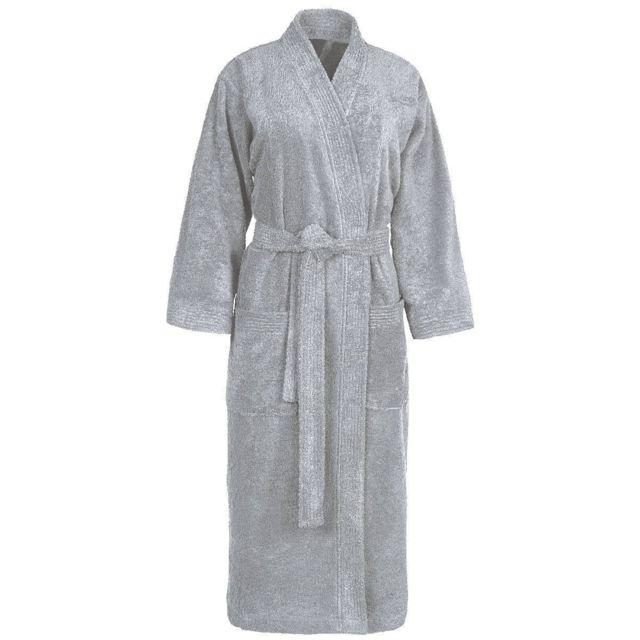 4be26c13e30 Sensei - La Maison Du Coton - Peignoir de bain col kimono uni 420gr ...