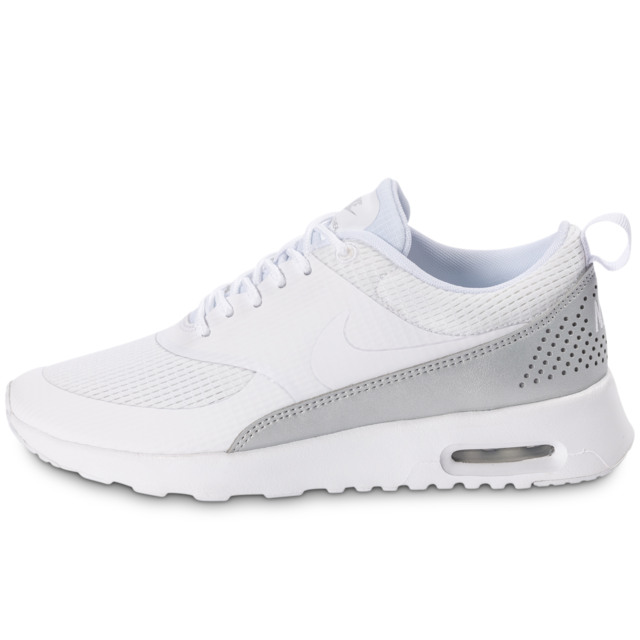 quality design 4839f 317e3 Nike - Air Max Thea Txt White Grey Metallic - Baskets Femme - pas ...