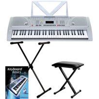 Funkey - 61 clavier Set avec Stand de Clavier, banc