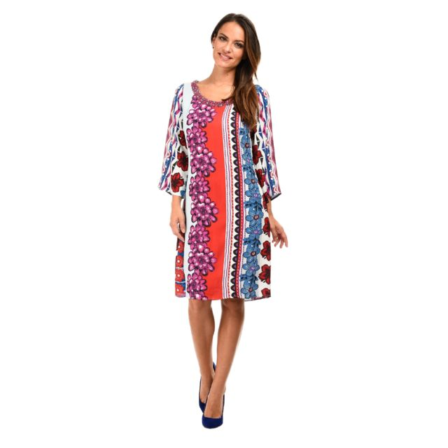 572cd272c2cfe Niza - Robe Lana - pas cher Achat / Vente Robes - RueDuCommerce