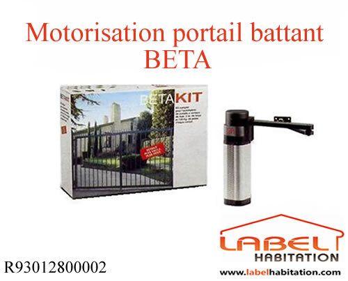BFT - Motorisation portail 2 battants - Beta 230V