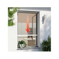 Windhager - Moustiquaire enrouleur fenêtre aluminium 160x160cm