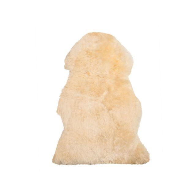 BELIANI Peau de mouton beige ULURU - beige