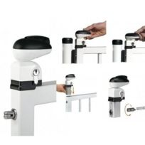 Locinox - Serrure pour portillon de piscine Twist40 pour profils de 40mm