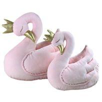 Sevira Kids - Peluche décorative pour chambre d'enfant - Cygne rose