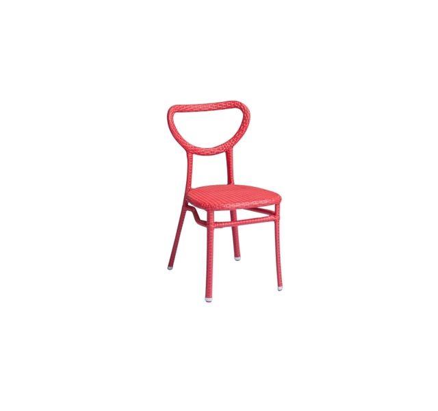 Lebrun Chaise 56 X 42 cm rouge Sperone