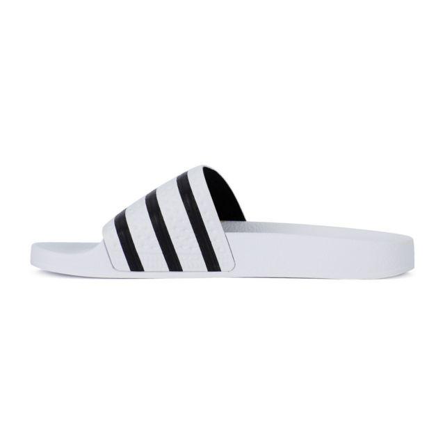 promo code a538f aa8ea Adidas originals - Sandale adidas Originals Adilette - Ref. 280648. Couleur    Blanc