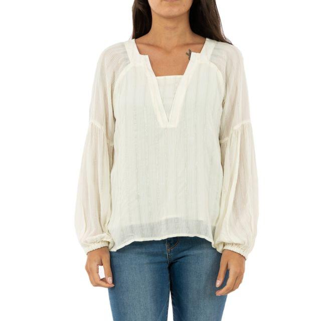 Lola Espeleta Tee shirt manches longues tp52w19 blanc