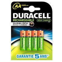 Duracell - Bathr06R - 4 piles rechargeables Aa-hr06 NiMH