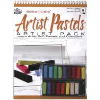 Royal & Langnickel - Rd-509 Pack Bloc Pastels Gras Assortis