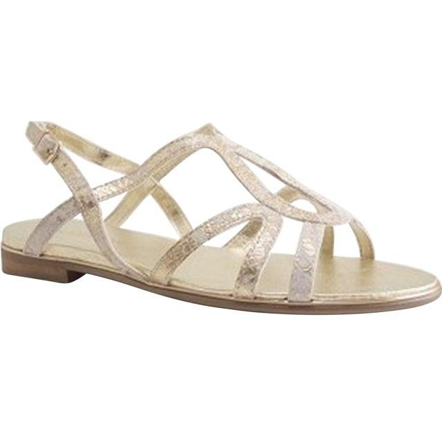 Karston - Pindiere France-sofor-sandale Salome-craie 37