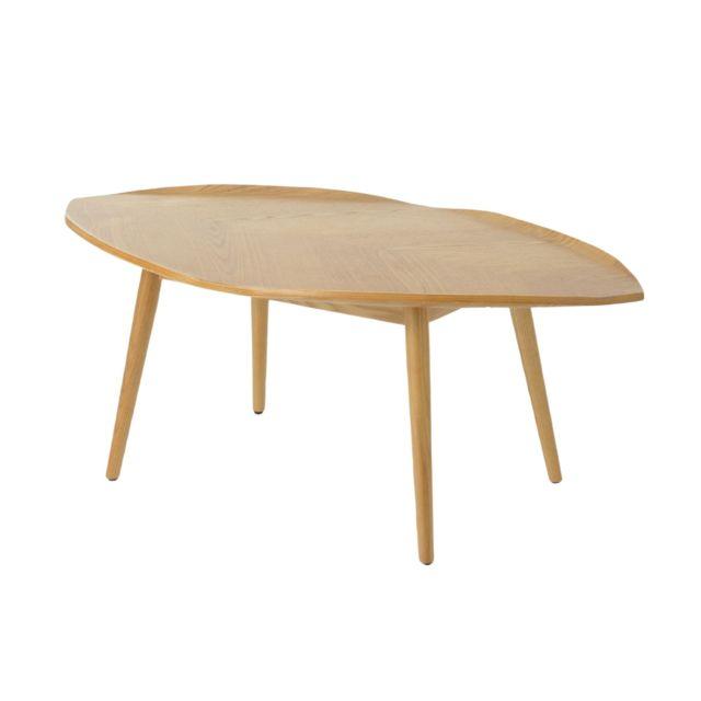 HELLIN Table basse en bois 109 cm - Autumn