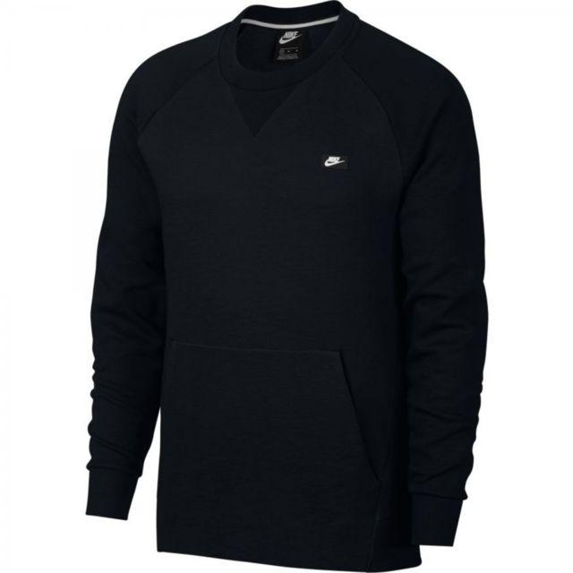Nike Sweatshirt Sweat Homme Nike Sportswear Optic (Noir