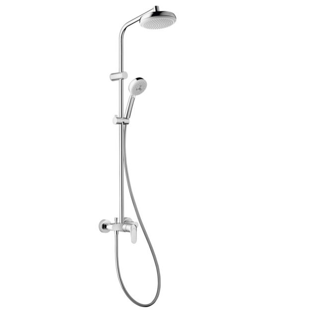 hansgrohe colonne de douche showerpipe myclub 180 m canique avec mitigeur pas cher achat. Black Bedroom Furniture Sets. Home Design Ideas