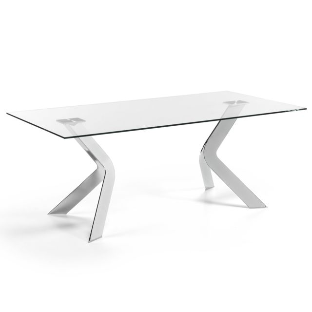 Kavehome Table Westport 200x100 cm, argent
