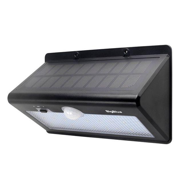 alpexe 26 led lampe solaire ext rieur sans fil ipx5 etanche avec d tecteur de mouvement trois. Black Bedroom Furniture Sets. Home Design Ideas