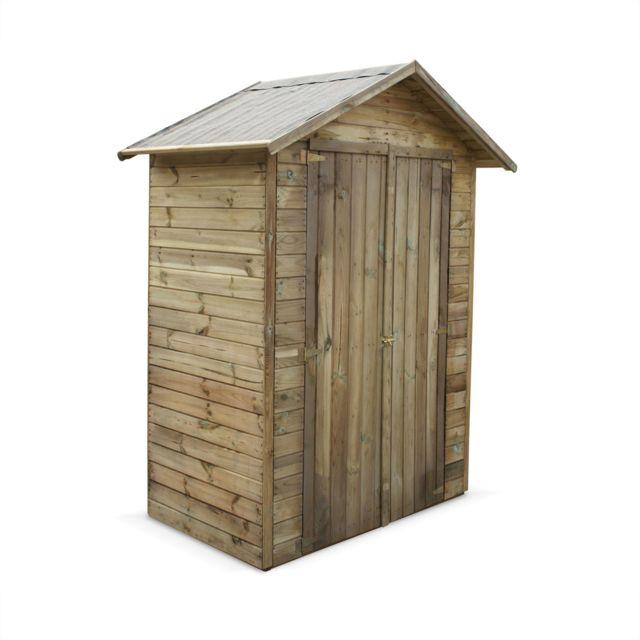 ALICE\'S GARDEN - Abri de jardin en bois FSC de 1.2m², IRIS ...