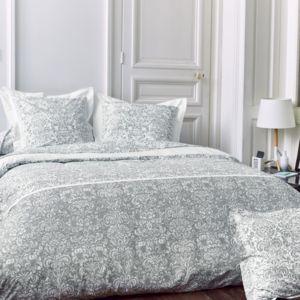 linnea parure de lit 200x200 cm percale pur coton. Black Bedroom Furniture Sets. Home Design Ideas