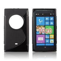 Bluetrade - Coque Tpu type S pour Nokia Lumia 1020 -noir