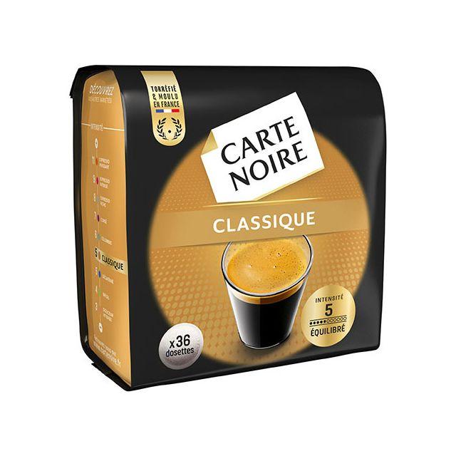 carte noire caf classique dosette souple machine. Black Bedroom Furniture Sets. Home Design Ideas